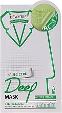 Profumi e cosmetici Maschera viso lenitiva purificante alla menta - Dewytree AC Control Deep Mask