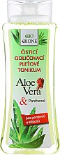 Profumi e cosmetici Tonico struccante - Bione Cosmetics Aloe Vera Soothing Cleansing Make-up Removal Facial Tonic