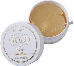 Profumi e cosmetici Patch occhi in idrogel Premium con oro e EGF - Petitfee & Koelf Premium Gold & EGF Eye Patch