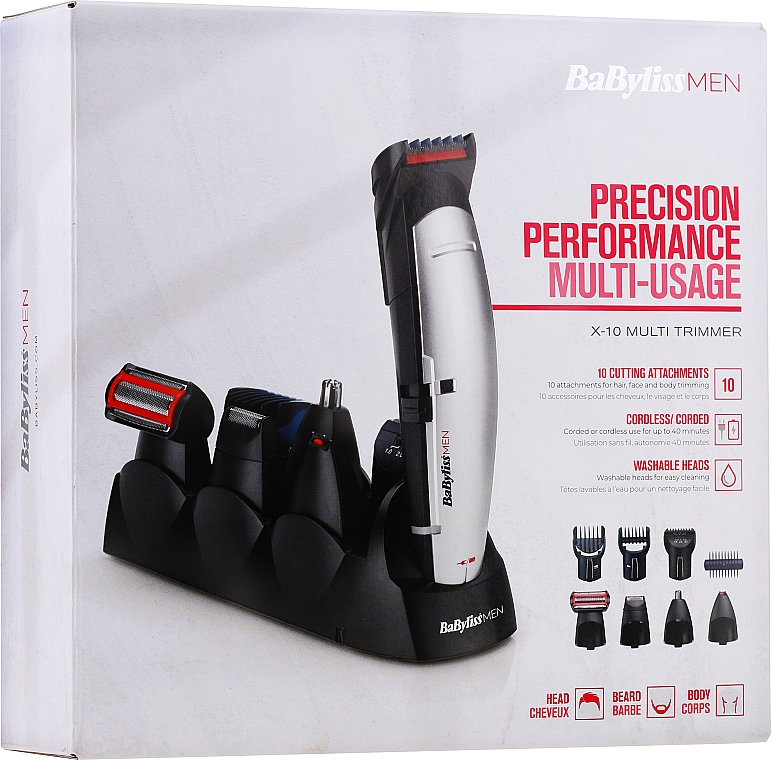 Set tagliacapelli E837E​ - BaByliss For Men