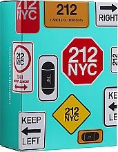 Carolina Herrera 212 For Women - Set (edt/100ml + edt/mini/10ml) — foto N1
