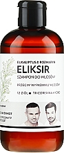 "Profumi e cosmetici Shampoo-elisir per capelli ""Eucalyptus and Rosemary"" - WS Academy Eukaliptus & Rozmaryn Elixir Wash"