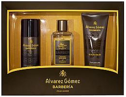 Profumi e cosmetici Alvarez Gomez Agua De Colonia Concentrada Barberia - Set (edc/150ml + deo/150ml + sh/gel/230ml)