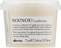 Profumi e cosmetici Balsamo nutriente per capelli fragili e danneggiati - Davines Nourishing Nounou Conditioner