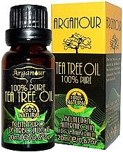 Profumi e cosmetici Olio dell'albero del tè - Arganour 100% Pure Tea Tree Oil