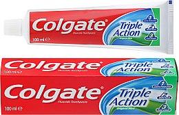 """Profumi e cosmetici Dentifricio """"Tripla azione"""" - Colgate Triple Action Original Mint"""