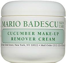 Profumi e cosmetici Crema struccante - Mario Badescu Cucumber Make-up Remover Cream