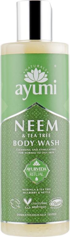 """Gel doccia """"Neem e albero del tè"""" - Ayumi Neem & Tea Tree Body Wash — foto N1"""