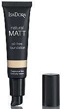 Profumi e cosmetici Fondotinta - IsaDora Natural Matt Oil-free Foundation