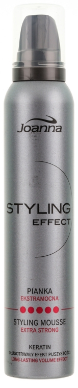 """Mousse modellante per capelli """"Extra forte"""" - Joanna Styling Effect Styling Mousse Extra Strong"""