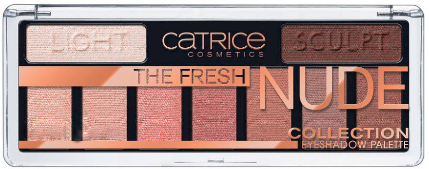 Palette ombretti occhi - Catrice The Fresh Nude Collection Eyeshadow Palette
