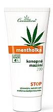 Profumi e cosmetici Gel rinfrescante da massaggio per corpo - Cannaderm Mentholka