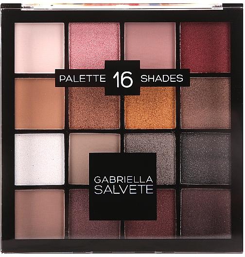 Palette ombretti - Gabriella Salvete Palette 16 Shades II