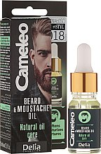 Profumi e cosmetici Olio da barba - Delia Cameleo Men Beard and Moustache Oil