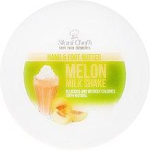 Profumi e cosmetici Burro per mani e piedi - Hristina Stani Chef's Hand And Foot Butter Melon Milk Shake