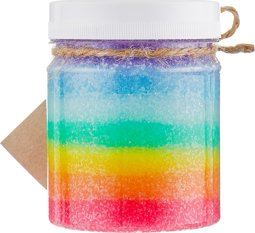 "Scrub-gomma da masticare ""Lecca lecca arcobaleno"" - Dushka Sweet Desserts Scrub-Chewing Gum"