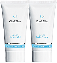 Profumi e cosmetici Set - Clarena Caviar Clarena (sh/gel/30ml + body/chr/30ml)