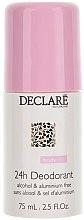 Profumi e cosmetici Deodorante senza alluminio roll-on - Declare 24 h Deodorant