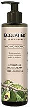 """Profumi e cosmetici Crema mani """"Nutrizione intensiva"""" - Ecolatier Organic Avocado Hydrating Hand Cream"""