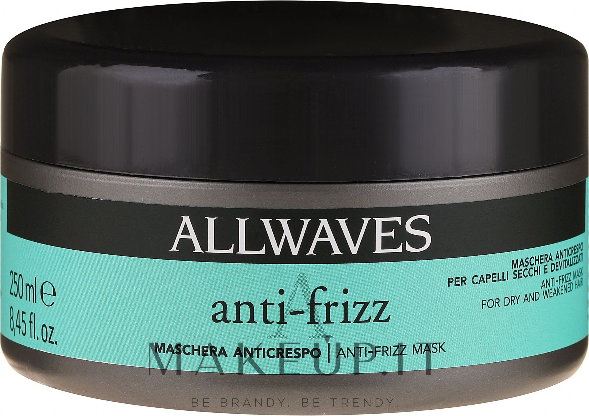 Maschera anti-crespo per capelli ribelli - Allwaves Anti-Frizz Mask — foto 250 ml