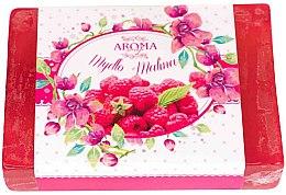 """Profumi e cosmetici Sapone """"Lampone"""" - Delicate Organic Aroma Soap"""