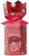 """Profumi e cosmetici Set """"Ibisco e bacche di acai"""" - Bubble T Bath Fizzer Hibiscus & Acai Berry (bomb/100g+confetti/25g)"""