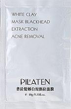 """Profumi e cosmetici Maschera viso """"Argilla bianca"""" - Pilaten White Clay Mask Blackhead Extraction Acne Removal (Campioncino)"""