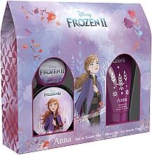 Profumi e cosmetici Disney Frozen II Anna - Set (edt/50ml + sh/gel/50ml)