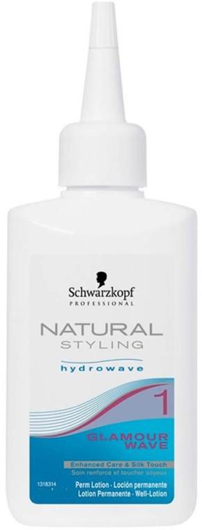 Permanente bifasico per capelli - Schwarzkopf Professional Natural Styling Curl & Care 1 — foto N1