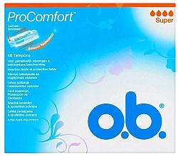 Profumi e cosmetici Tamponi, 48 pz - O.b. ProComfort Super