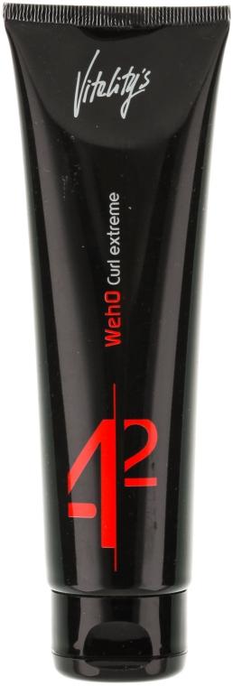 Crema per creare ricci fissaggio forte - Vitality's We-Ho Curl Extreme