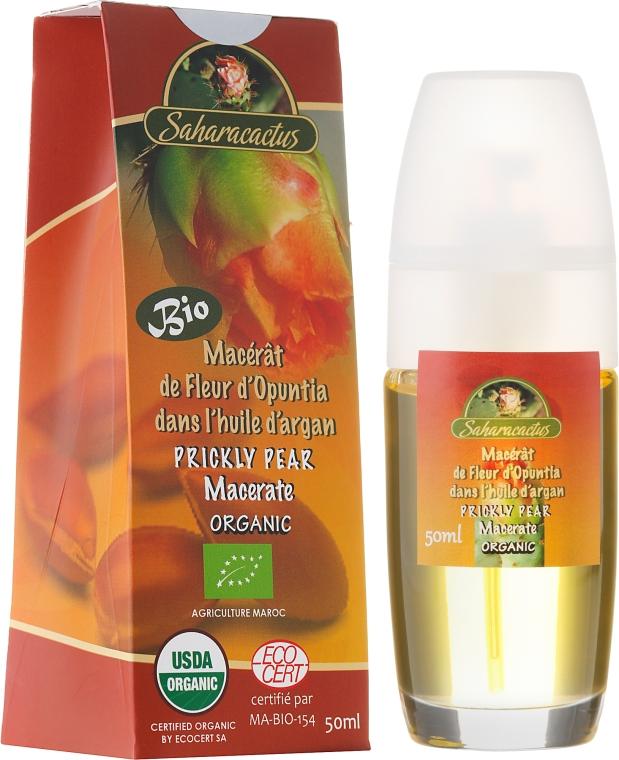 Macerato di fiori di opunzia in olio di argan - Efas Saharacactus Macerat Opuntia Ficus in Argan Oil