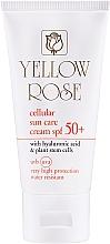 Profumi e cosmetici Crema solare antietà con cellule staminali SPF50 - Yellow Rose Cellular Sun Care Cream SPF-50