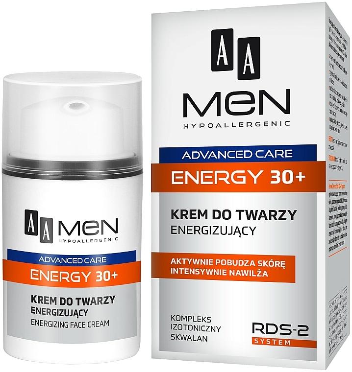 Crema viso - AA Men Advanced Care Energy 30+ Face Cream Energizing