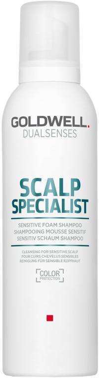 Shampoo per cuoio capelluto sensibile - Goldwell DualSenses Scalp Specialist Sensitive Foam Shampoo — foto N1