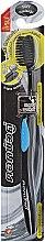 Profumi e cosmetici Spazzolino antibatterico con carbone, blu - Twin Lotus Bamboo Charcoal Toothbrush