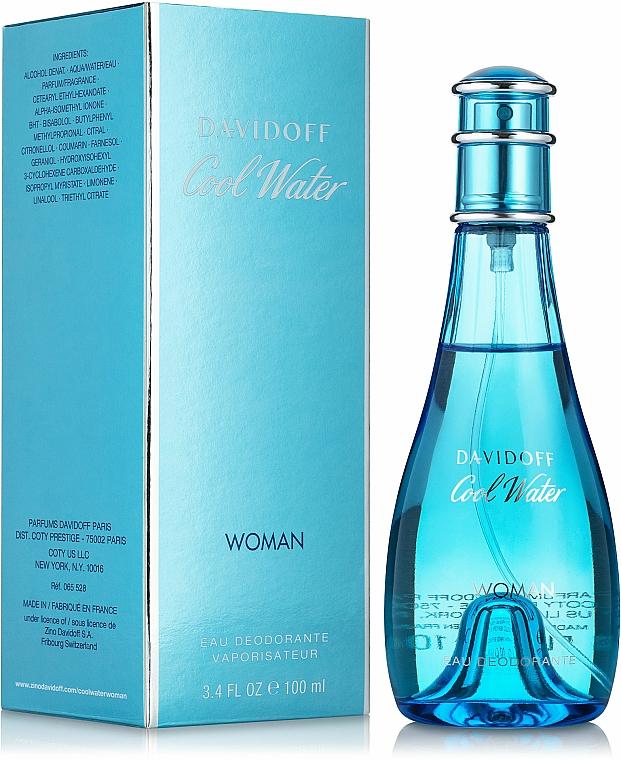 Davidoff Cool Water woman - Deodorante