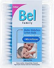 Profumi e cosmetici Bastoncini cotonati - Bel Family Cotton Buds