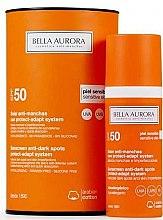 Profumi e cosmetici Fluido solare per pelle sensibile - Bella Aurora Solar Anti-Stain Sensitive Skin SPF50+
