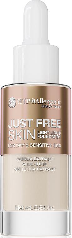 Fondotinta - Bell Just Free Skin Light Liquid Foundation