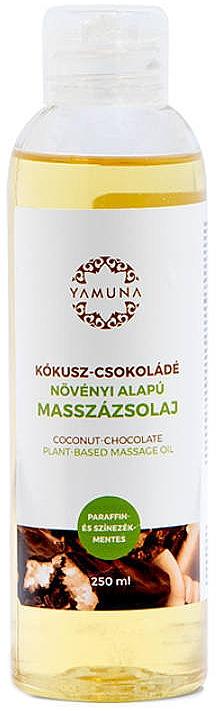 """Olio da massaggio """"Cocco-cioccolato"""" - Yamuna Coconut-Chocolate Plant Based Massage Oil"""