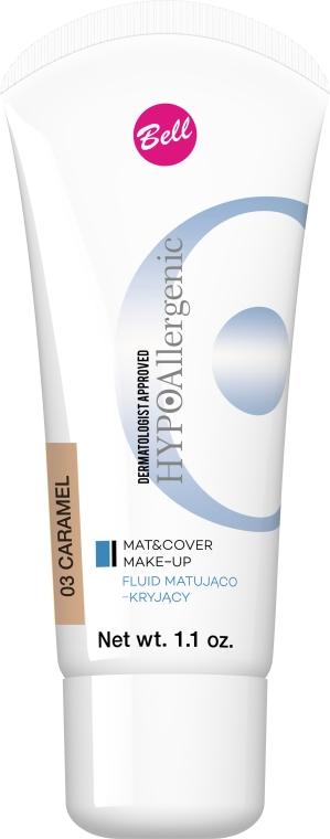 Fondotinta - Bell HypoAllergenic Mat&Cover Make-Up