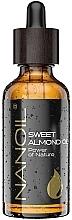 Profumi e cosmetici Olio di mandorle - Nanoil Body Face and Hair Sweet Almond Oil