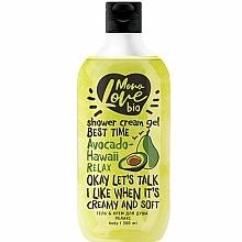 Profumi e cosmetici Gel doccia rilassante - MonoLove Bio Avocado-Hawai Relax