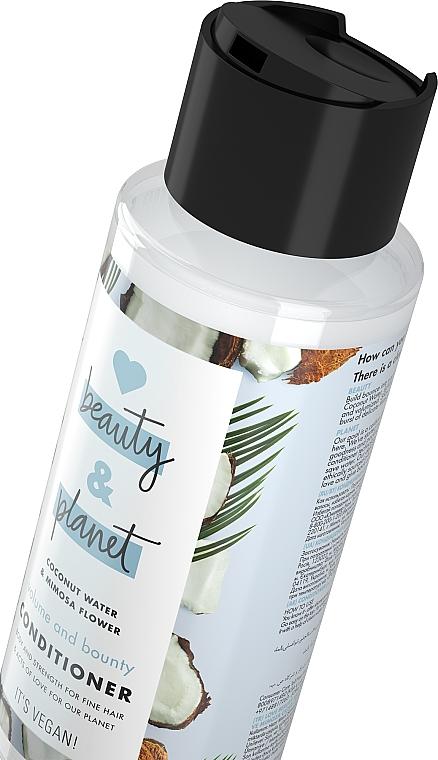 """Condizionante per capelli """"Volume e generosità"""" - Love Beauty&Planet Beauty And Bounty Conditioner — foto N3"""