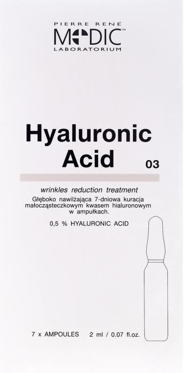 Fiale viso con acido ialuronico - Pierre Rene Medic Laboratorium Vital Serum