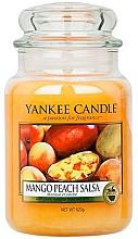 """Profumi e cosmetici Candela profumata """"Salsa di mango e pesca"""" - Yankee Candle Mango Peach Salsa"""