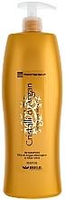Profumi e cosmetici Shampoo idratante con olio di argan e aloe - Brelil Bio Traitement Cristalli d'Argan Shampoo Intensive Beauty