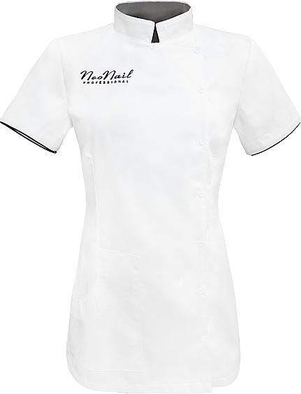 Casacca estetista, taglia XL, bianco - NeoNail Professional — foto N1