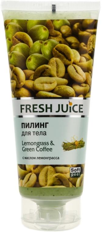"Peeling per il corpo ""Lemongrass and Green Coffee"" - Fresh Juice Lemongrass Green Coffee"